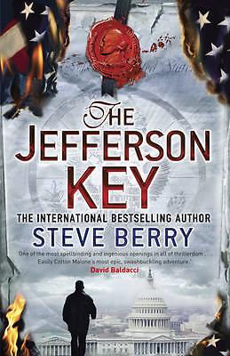 Berry, Steve, The Jefferson Key: Book 7 (Cotton Malone), Very Good Book