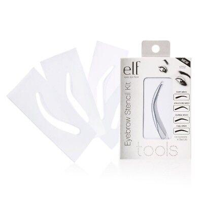 E.L.F. Essentials EYEBROW STENCIL KIT #1722 Brow Makeup Applicator Eye ELF