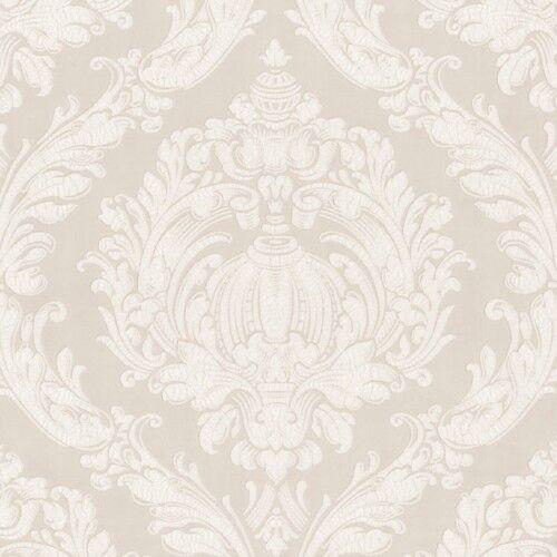 Vlies Tapete Barock Ornamente P S 03926 70 Crash Labyrinth Creme Weiss EDEL