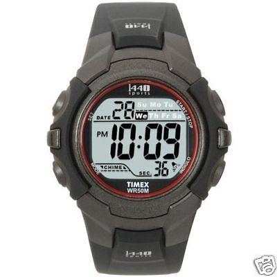 timex 1440 sports t5j581 wrist watch for men ebay rh ebay com timex 1440 sports wr50m watch instructions