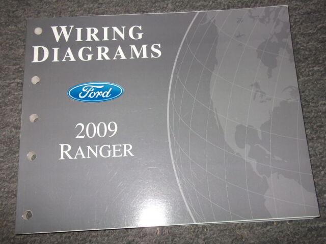 2009 Ford Ranger Truck Electrical Wiring Diagrams Shop Repair Manual Ewd Oem
