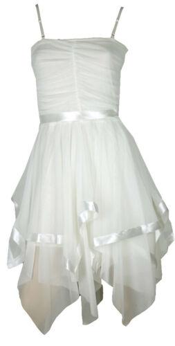 NEW WOMENS BELT CHIFFON PROM LADIES DRESS SIZE 8 10 12