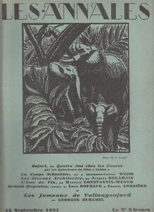 Les Annales Politiques 1931 N°2390-tourguénief-tolstoï DernièRe Mode