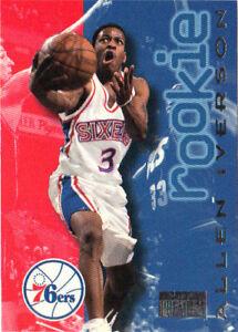 Allen Iverson RC 96-97 SkyBox Premium #216 76ers Rookie | eBay