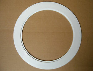 6 inch recessed ceiling can light over size plastic trim ring image is loading 6 034 inch recessed ceiling can light over aloadofball Choice Image