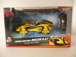 Hot Wheels Speed Racer Yellow Radio Control X GT NIB