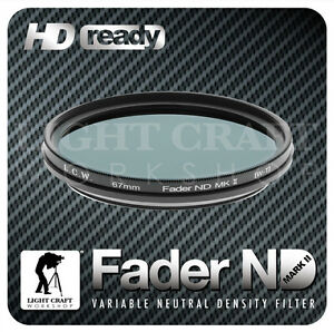 Fader-ND-Filter-ND2-to-ND400-67mm-Neutral-Density