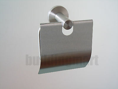 Grade 304 Stainless Steel-Toilet Roll Holder with Cover