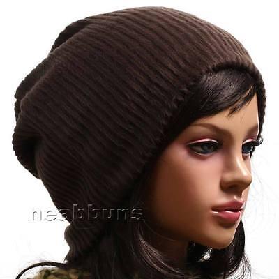 uniSex new Baggy Oversized BEANIE Hat Cap skull soooW