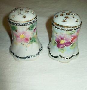 Hand Painted Salt Pepper Shakers Japan