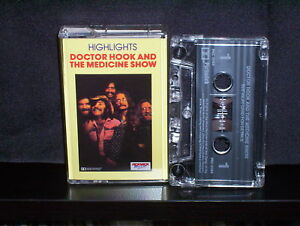 DR-HOOK-HIGHLIGHTS-RARE-AUSTRALIAN-CASSETTE-TAPE-NM