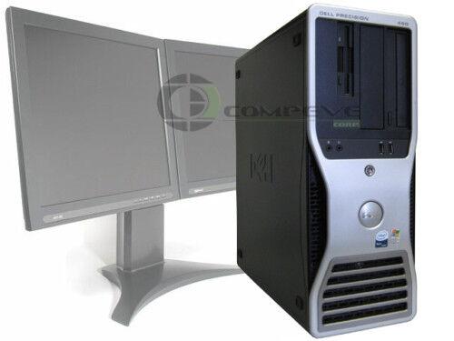 Dell Precision 490 Quad Core CPU 2.33GHz/4GB/80GB/FX 1500 Video Card Computer