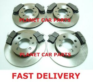 MGF-MG-F-1-8-16V-VVC-1995-2001-FRONT-amp-REAR-BRAKE-DISCS-AND-PADS-SET-NEW