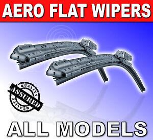 Aero-Flat-Flexi-Front-WindScreen-Wiper-Blades-Peugeot-All-Models-New-Screen
