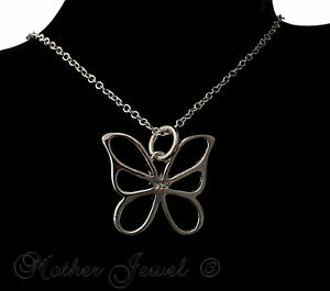 TRULY-LOVELY-GIFT-BUTTERFLY-PENDANT-STERLING-SILVER-SP-CHAIN-NECKLACE