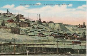 Richest-Hill-In-The-World-Butte-MT-Postcard