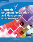 Electronic Document Preparation and Management for CSEC Examinations Coursebook with CD-ROM by Kyle Skeete (Mixed media product, 2011)