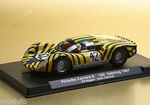 Fly A1503 Porsche Carrera 6 12h Sebring 1967 Nouveau