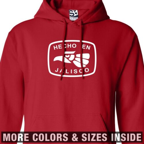 Hooded Hoodie En Jalisco Hecho All Sweatshirt Guadalajara Colors Mexico Sizes tvPqwwZ