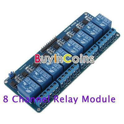 5V 8 Channel Relay Module Board Electronic for Arduino AVR PIC MCU DSP ARM HF