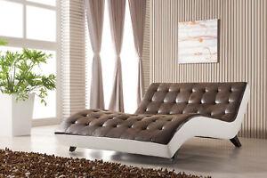Details zu Doppel Relax Liege Doppelrelaxliege Doppelliege Chaiselongue  515-2-PU