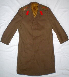 Vintage Russian Soviet Military Army Officer Uniform Cloak Cape ...