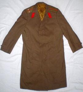 Vintage Russian Soviet Military Army Officer Uniform Cloak Cape ...