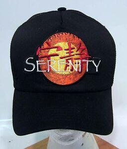NEW-SERENITY-Logo-Baseball-Cap-Hat-w-Patch