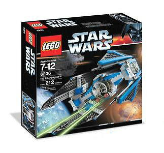 LEGO Star Wars TIE Interceptor 2006 (6206)