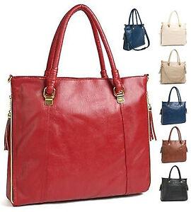 Women-Ladies-HandBag-ShoulderBag-Tote-Bag-FREE-Shipping-Worldwide-M801
