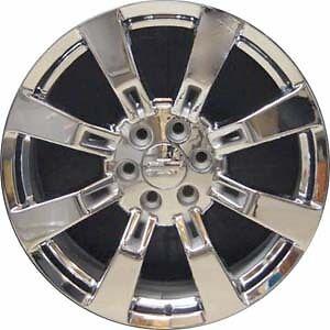 22 chrome wheels rims chevy tahoe suburban avalanche silverado gmc sierra. Black Bedroom Furniture Sets. Home Design Ideas
