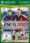 Pro Evolution Soccer 2010 (Microsoft Xbox 360, 2010, DVD-Box)