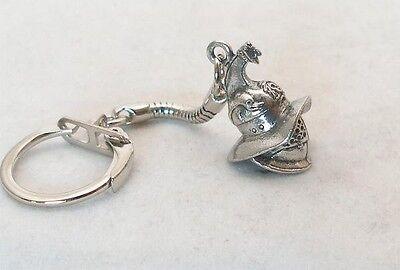 Roman Gladiator Helmet Key-ring, keychain in fine English Pewter, Keyring