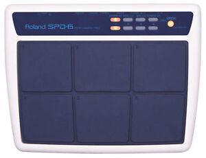 roland spd 6 percussion drum machine sampler midi pad s 8 20 30 ebay. Black Bedroom Furniture Sets. Home Design Ideas
