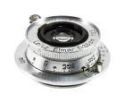 Leica Leitz Elmar 50 mm F/3.5 MF Objektiv (Silber)