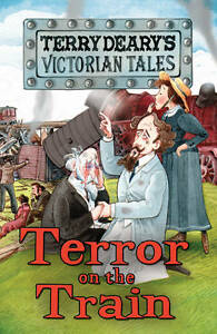 Terror-on-the-Train-Victorian-Tales-Terry-Deary-Used-Good-Book