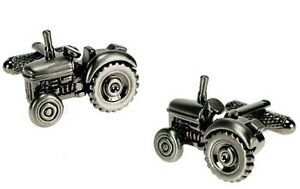 TRACTOR-DRIVER-Farmer-Excavator-Vintage-Classic-Digger-CUFFLINKS-IN-GIFT-BOX