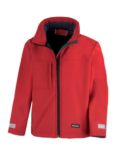 Bambini Softshell Giacca Di RESULT impermeabile XS S M L XL XXL Giacca Ragazze giovani