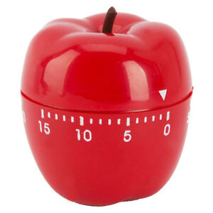 New-Apple-Cooking-Cook-Kitchen-Ring-Timer-Alarm-60-Minute