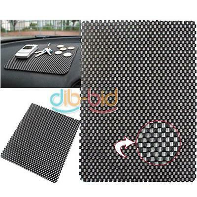 2X Car Non Slip Dash Mat Dashboard Phone Pad Holder Black ED UK