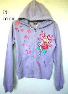 Amy-Brown-Lavender-Rose-Flower-Fairy-Zip-Up-Hoodie-S