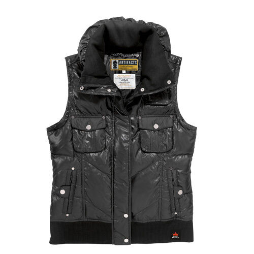 Bud Select Artifacts Puffer Vest New in Bag with Tags Free Shipping in the USA
