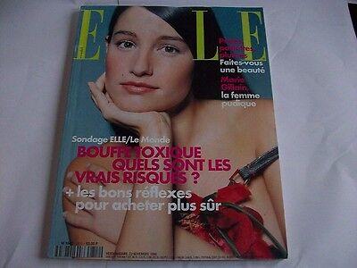 ELLE N°2812 22 NOVEMBRE 1999 MARIE GILLAIN WINSLET CAMPION ELLEN GREVE MITCHELL