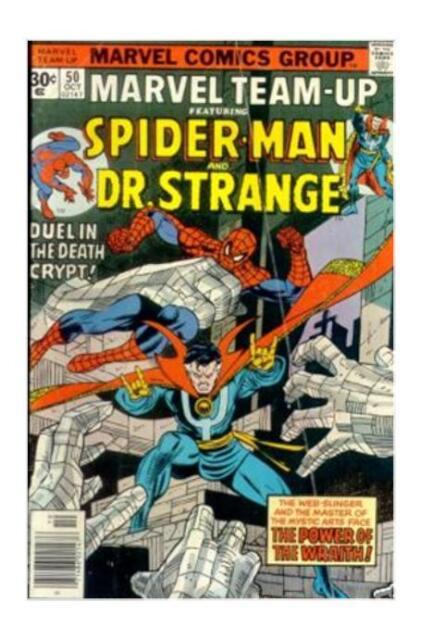 Marvel Team-Up #50 (Oct 1976, Marvel) F  Dr. Strange