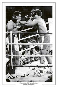 MUHAMMAD-ALI-amp-GEORGE-FOREMAN-RUMBLE-IN-THE-JUNGLE-SIGNED-AUTOGRAPH-PHOTO-PRINT