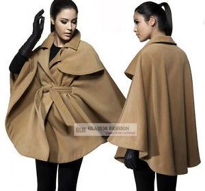 New-Womens-Fashion-Cape-Poncho-Outwear-Jacket-Coat