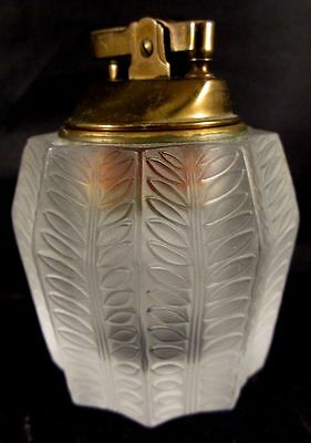 Vintage  Lalique Jamaique Lighter~Retired~Rare~Very Collectible~Signed~Perfect!