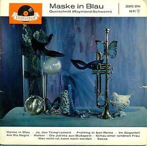 FRED-RAYMOND-MASKE-IN-BLAU-QUERSCHNITT-EP-7-034-SINGLE-689