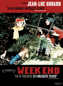 jean-luc godard weekend essay Jean-luc godard 1930– french director, screenwriter, actor, and critic godard is one of the most important figures to emerge from the nouvelle vague (new wave): the auteurist school of film.