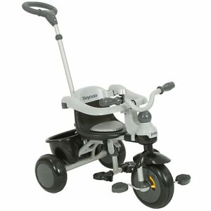 NEW-Joovy-Tricycoo-Tricycle-with-Moveable-Footrest-Wheel-Lock-amp-Bell-Black
